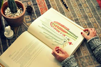 libro botanico de gran canaria, dibujos de mary annie Kunkel