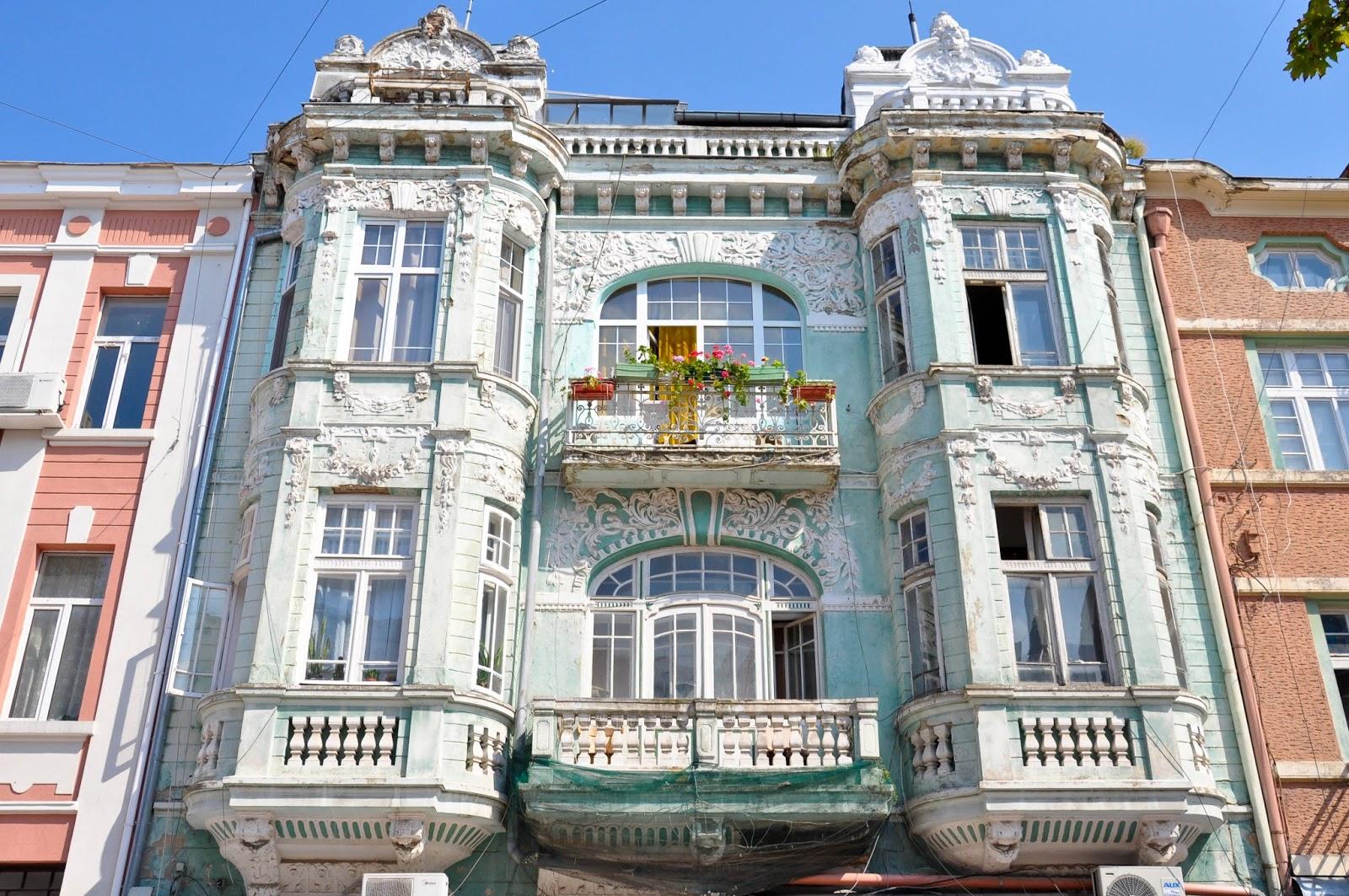 Decaying House, Varna, Bulgaria