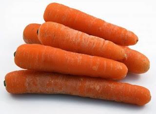 tepung wortel untuk kenari
