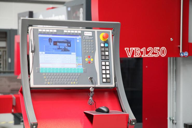 Интерфейс оператора Voortman-VB1250