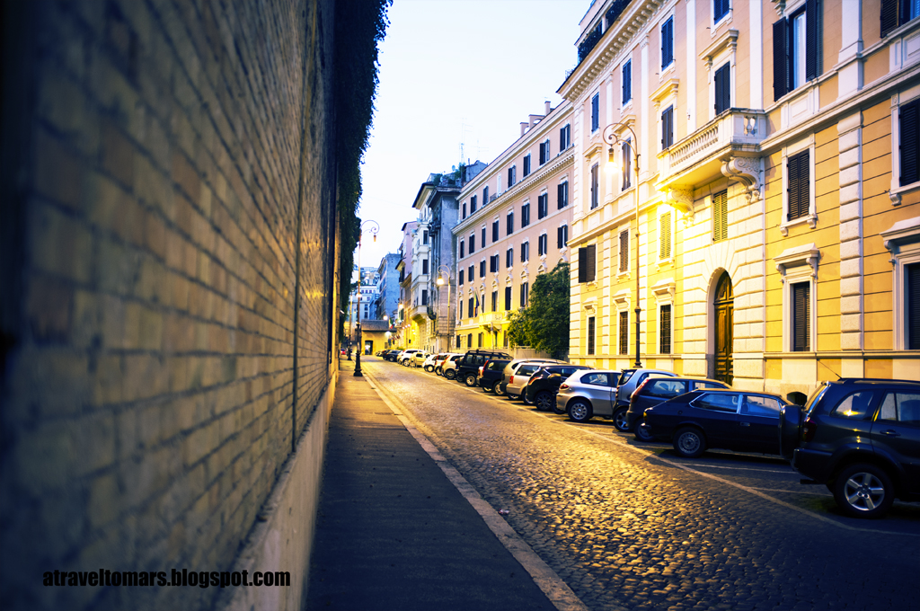 Calles de Roma Foto