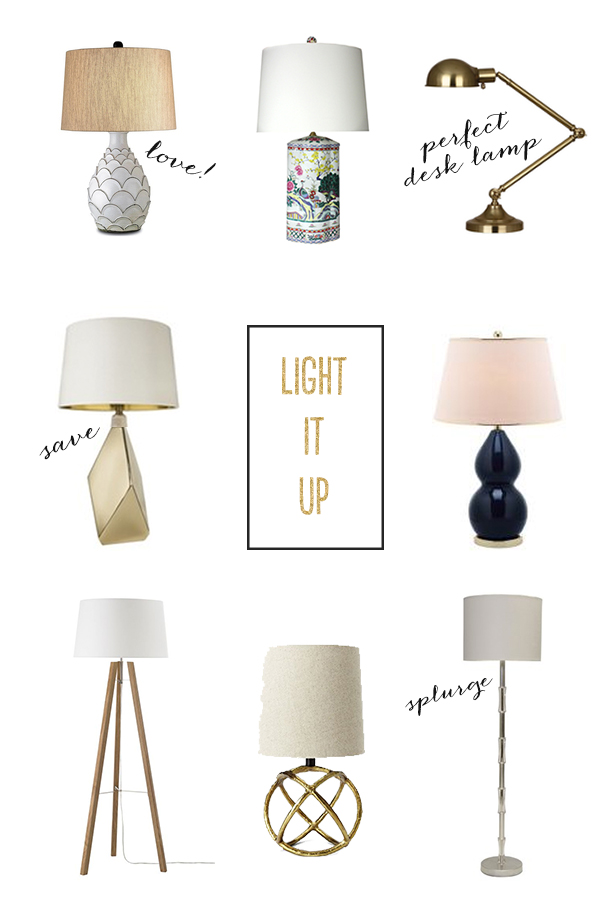 Light It Up Favorite Lamps Michaela Noelle Designs