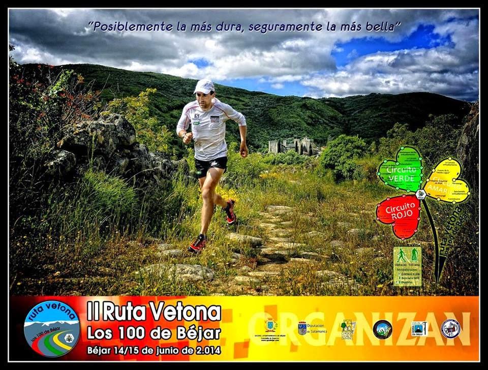 """14/Junio. II Ruta Vetona """"Los 100 de Béjar"""". Béjar"""