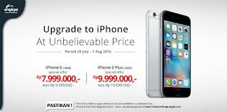 Harga Spesial iPhone 6 dan 6 Plus