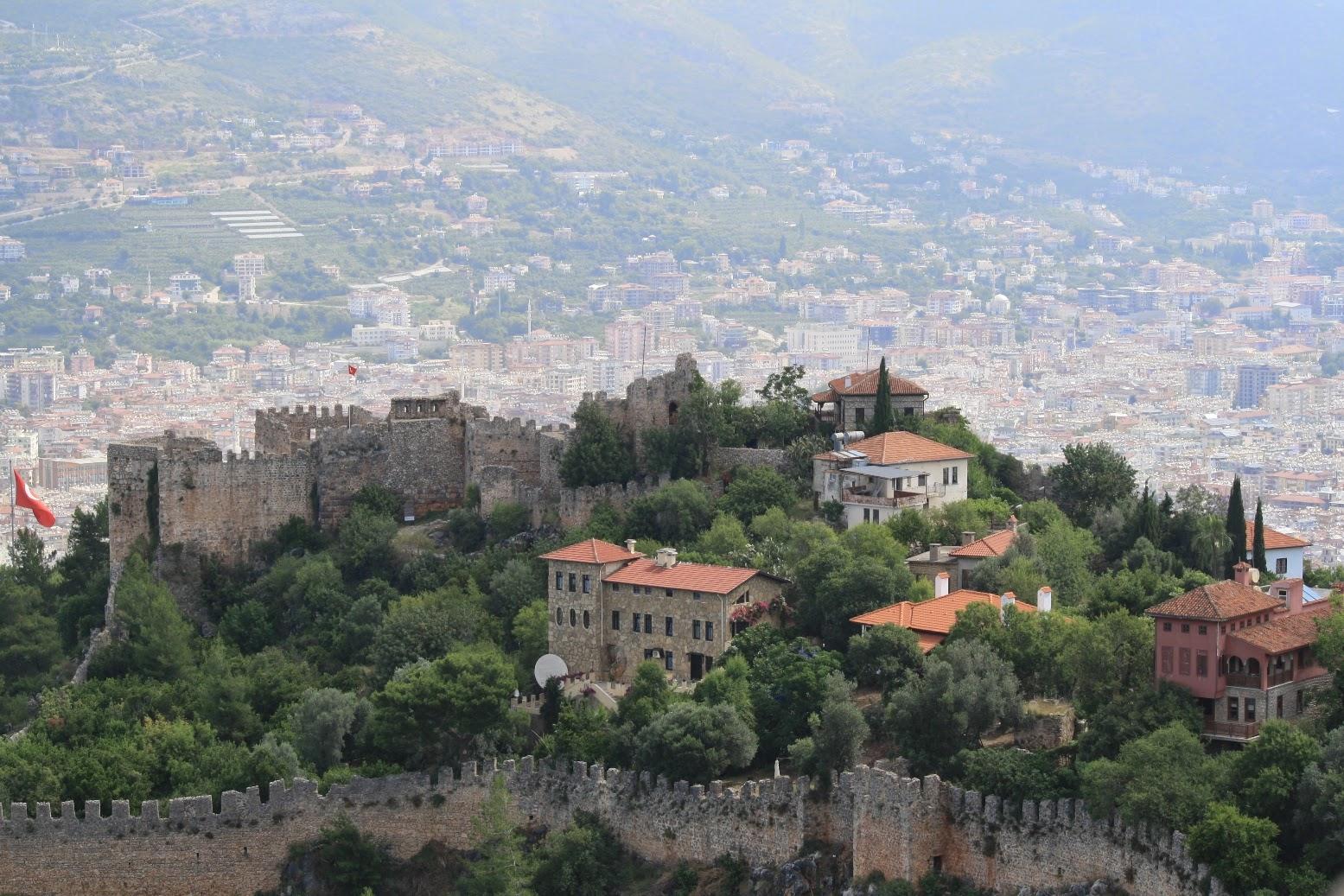 Burg von Alanya Türkei