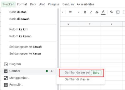 Cara Menambahkan Gambar Ke Sel Google Spreadsheet