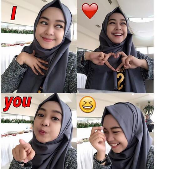 34 Tutorial Hijab Ala Natasha Farani Vs Ria Ricis 2017 Favorit Mana Tampil Cantik Dengan Hijab