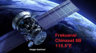 Frekuensi Chinasat 6B Terbaru, Banyak TV FTA Disini