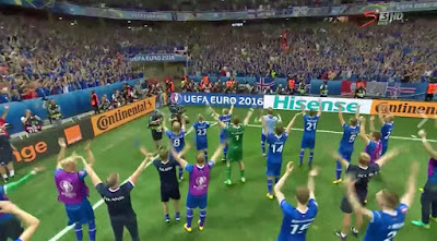 How Iceland beat England and in Euro 2016