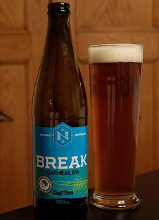 Break Oatmeal IPA fra Browar Nepomucen