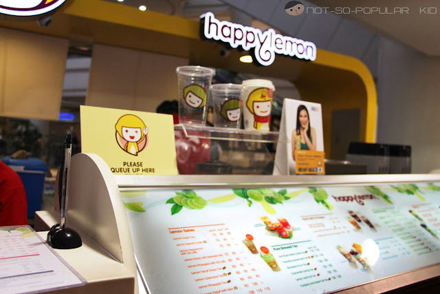 Happy Lemon in Robinsons Place Manila