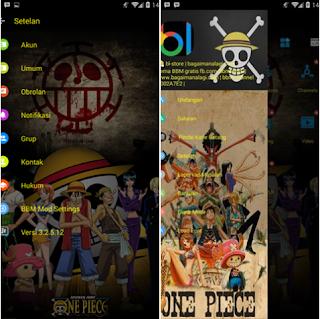 BBM Mod One Piece V3.2.5.12 Apk