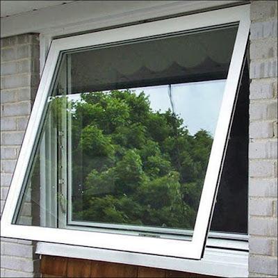 janela de vidro comum transparente float