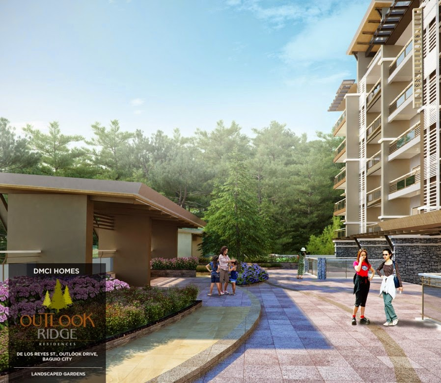 Outlook Ridge Residences LANDSCAPE GARDENS