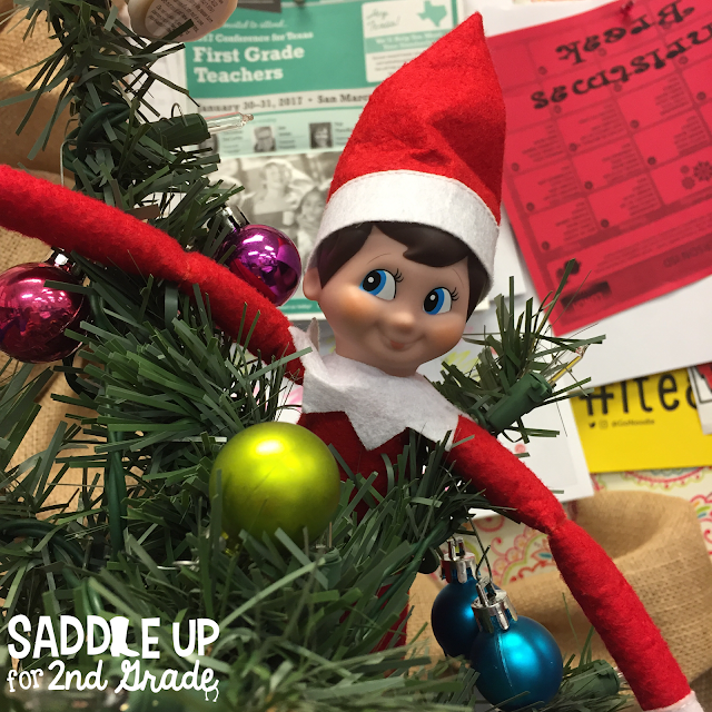 This blog post features 15 ideas to usThe Elf On The Shelf Christmas craze is bigger than ever. This blog post features 15 ideas to use with your elf on the shelf in your classroom. e with your elf on the shelf in your classroom.