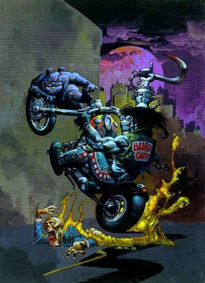 Lobo the Destroyer - Simon Bisley