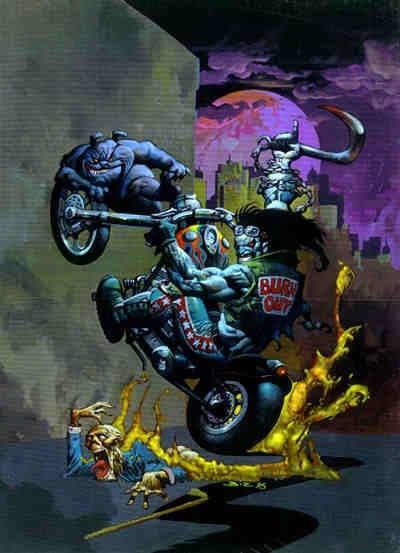 Lobo the Destroyer - Simon Bisley