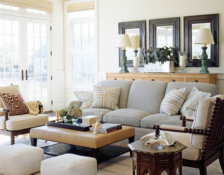 Design dump 4 simple ideas for accessorizing - Over the couch decor ...