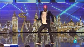 Fonty bailarín de break dance. Got Talent Gala 3