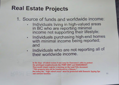 Chinese Immigrant Tax Cheats - CRA Pacific Region document