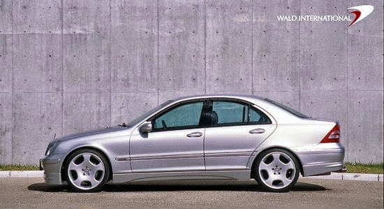 mercedes benz w203 wald body kit