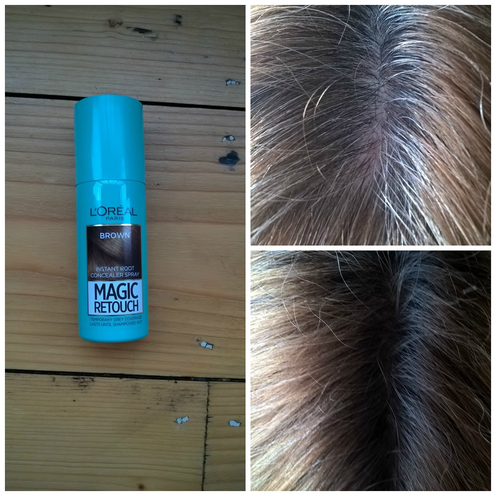 root concealer spray - L'Oreal Paris Magic Retouch in brown