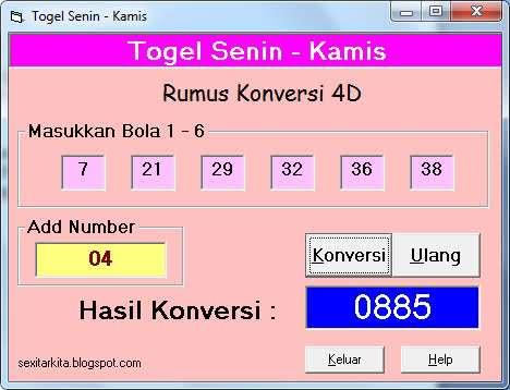 Software Tools Togel Untuk Menghitung Rumus Togel Terbaru ...