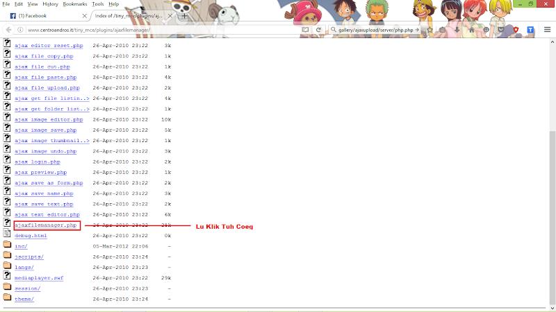 Deface Ajax File Manager Shell Upload
