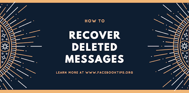 Recovering Tips Facebook Messages