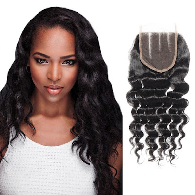 10-20 Inch Virgin Brazlian Hair Loose Wavy 4*4 Three Part