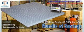 Các loại cân sàn điện tử cas 2-20 tấn chất lượng cao