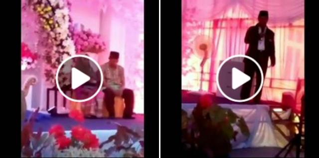 Viral Video Orasi Di Walimah, Bukan Memberi Nasehat Malah Memaki Cadar Yang Dikenakan Pengantin