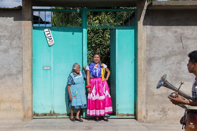 China Oaxaqueña en Santa María del Tule Oaxaca