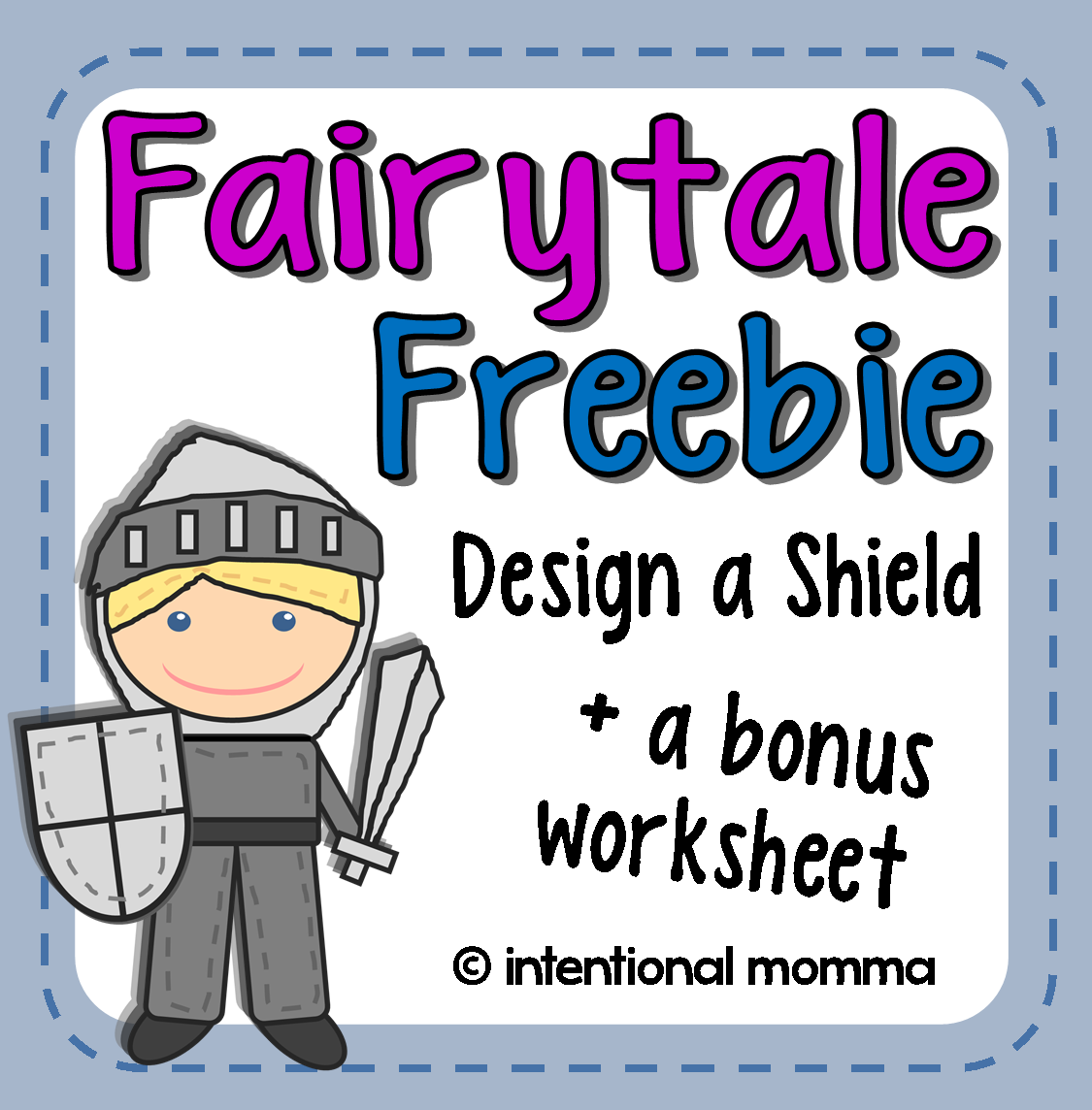 The Intentional Momma Fairytale Freebie