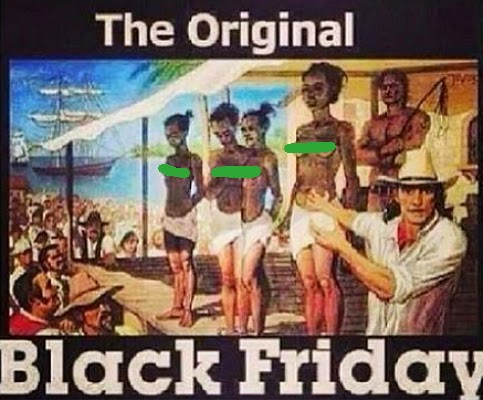 black friday slavery