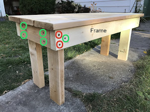 Make this sweet little bench