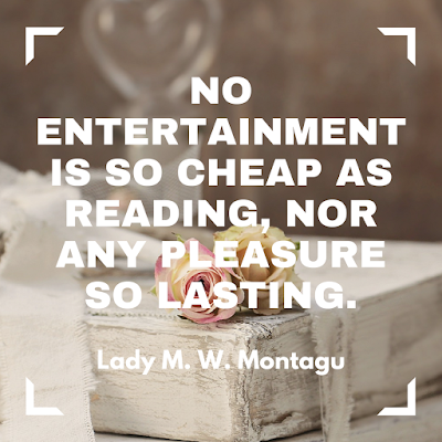 No entertainment is so cheap as reading, nor any pleasure so lasting. #books #readeveryday