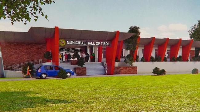 Perspective Tboli Municipal Hall