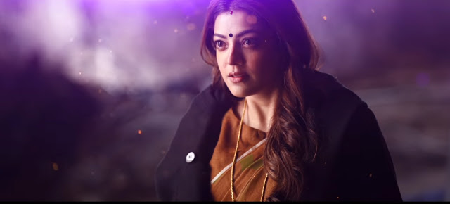 Kajal Agarwal Looks Stunning in Veriyera Song from Vivegam