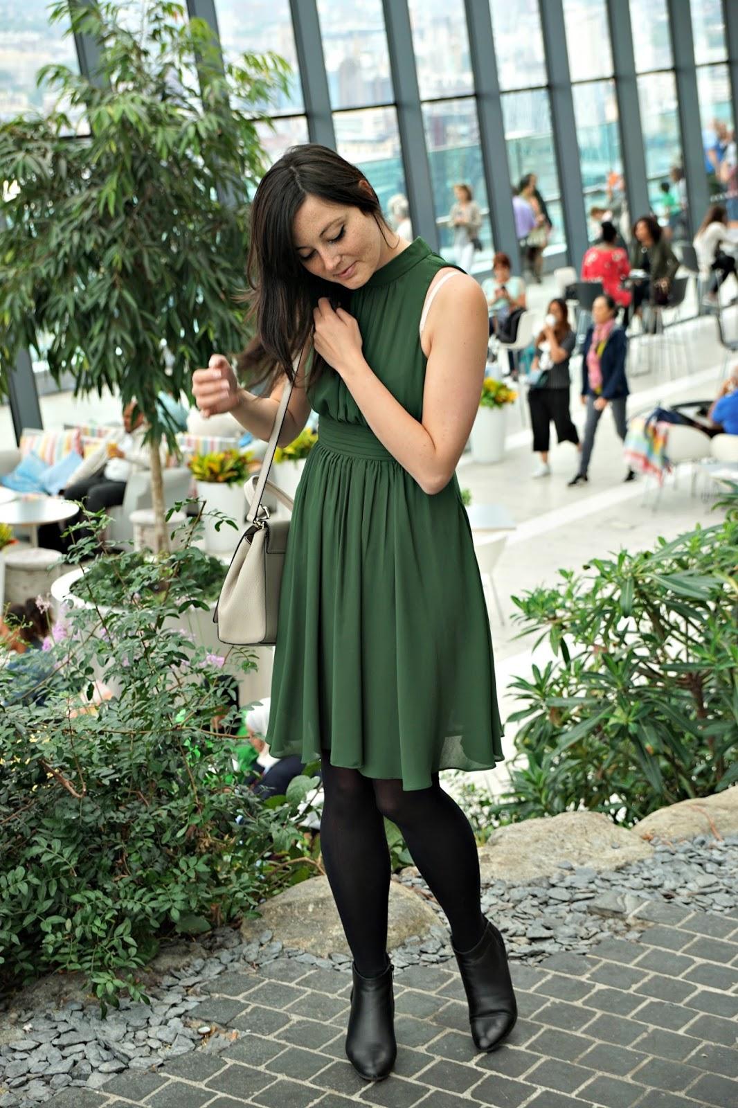 My Green Dress from Zara