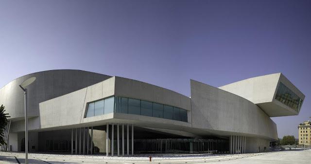 bangunan seni dan arsitektur terbaik di roma italia maxxi museo karya ir zaha hadid