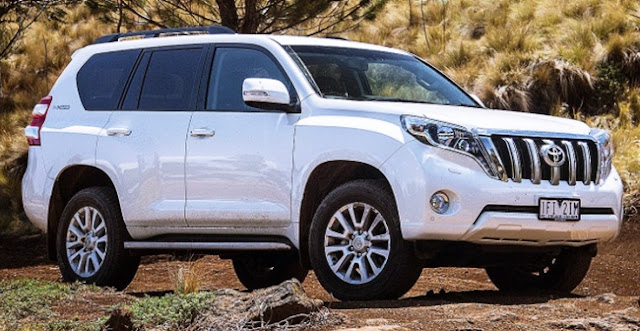 New 2019 Toyota Land Cruiser Redesign