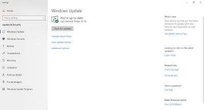 Menonaktifkan fitur update windows 10