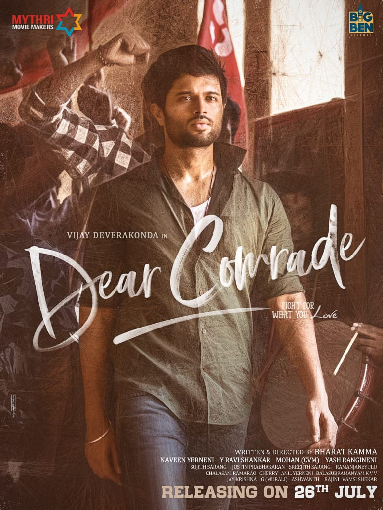 Dear Comrade (2019) [Hindi Subbed] 720p Proper HDRip ESubs Free Download