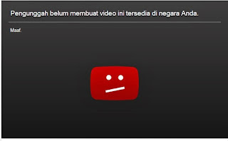 Pengunggah Belum Membuat Video Ini Tersedia di Negara