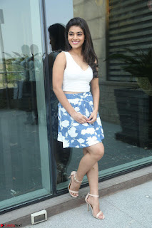 Yamini in Short Mini Skirt and Crop Sleeveless White Top 039.JPG