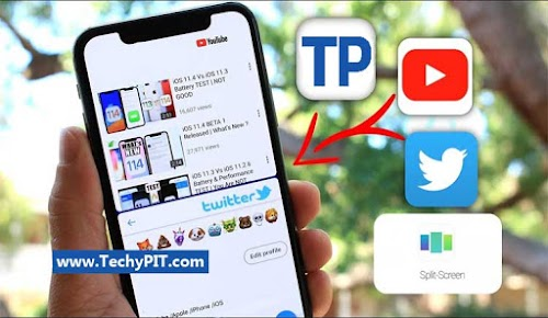How To Use iPhone 8 Split Screen & iPhone 8 Multi Window
