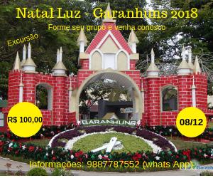 Excursão Natal Luz Garanhuns 2018