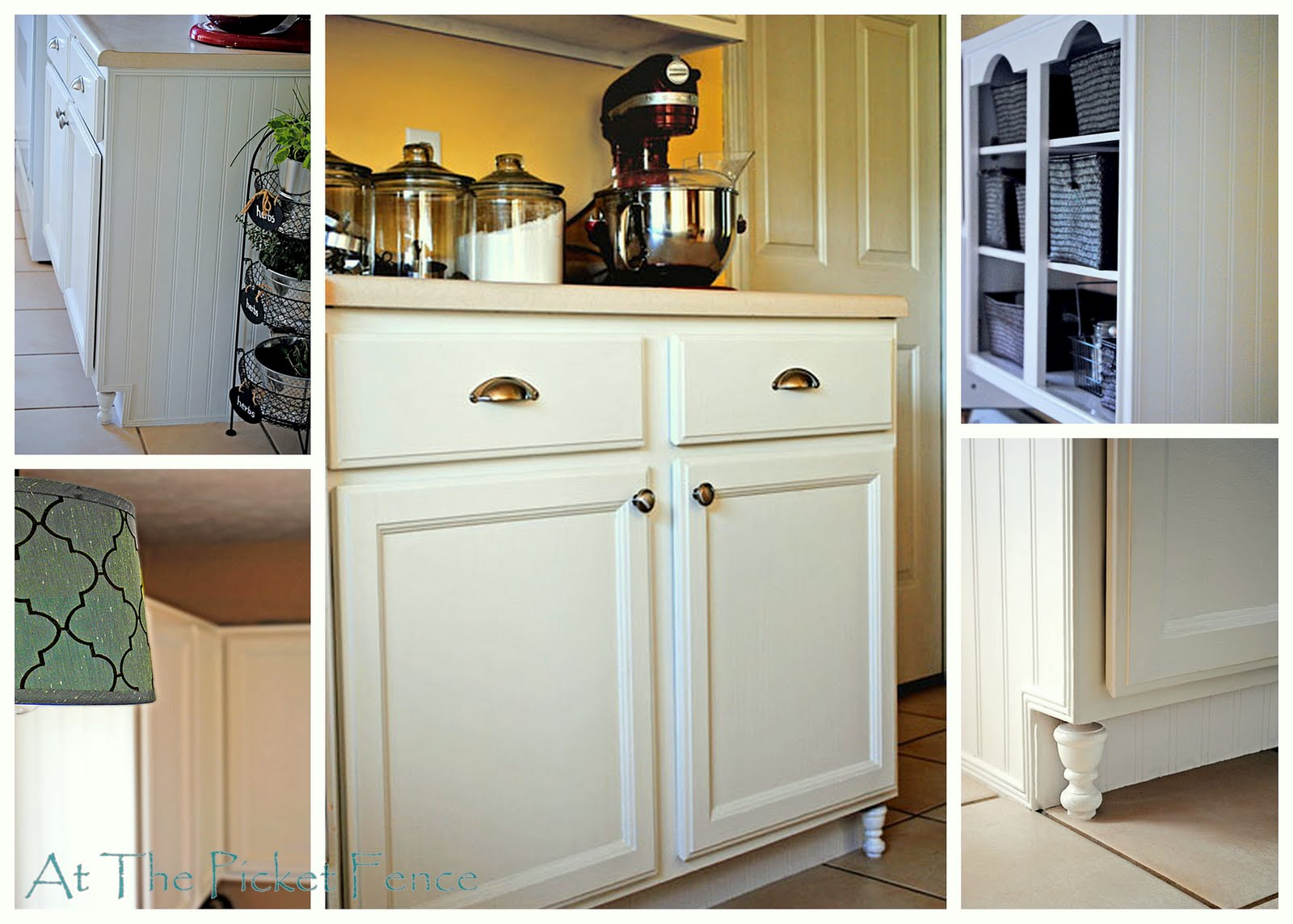 Make Your Own Frugal Kitchen Cabinet Feet