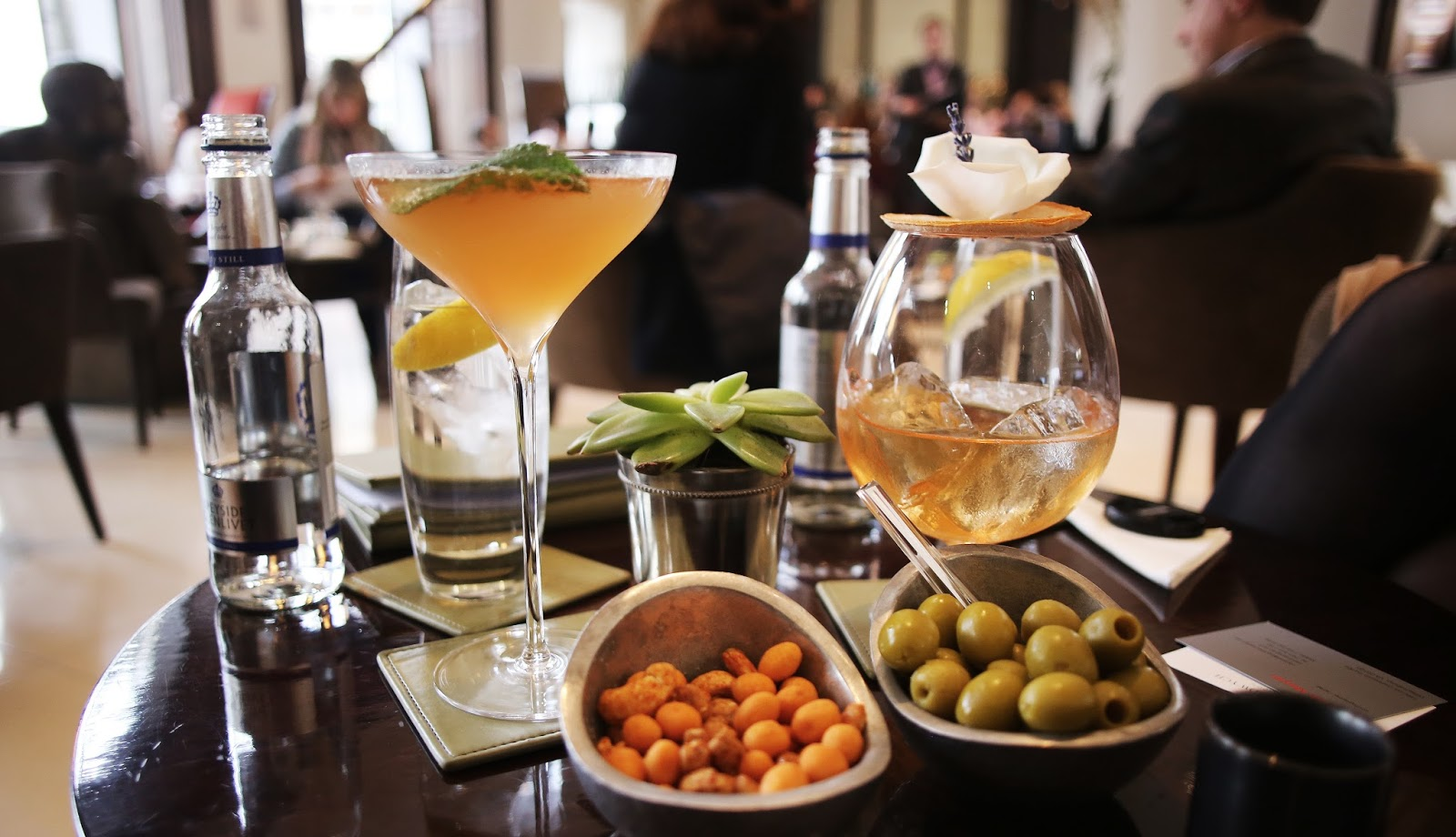 Cocktails and clean eating: The Lobby Bar and gluten free, dairy free Indigo Restaurant at One Aldwych Hotel, Covent Garden.